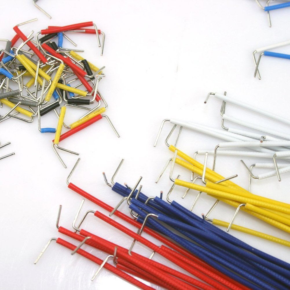 Jumper Cable Kit : Breadboard jumper cable kit faranux electronics